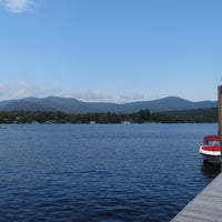 Photo taken at Lake Placid Marina by Reggie C. on 8/30/2015