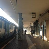 Photo taken at Stazione Asti by Bisso L. on 1/25/2013