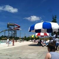 Photo taken at Alabama Splash Adventure by Cara on 5/24/2013