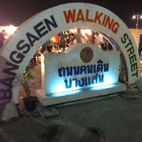 Photo taken at Bangsaen Walking Street by PackkunG's A. on 1/19/2013