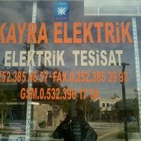 Photo taken at kayra elektirik by Tuna A. on 12/12/2013