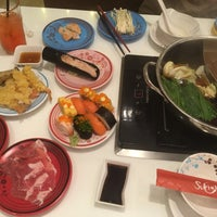 Photo taken at Sukishi Buffet by Busrin J. on 12/28/2017 ...