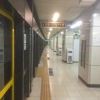 Photo taken at Namboku Line Komagome Station (N14) by Mizuki H. on 1/30/2018