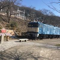 Photo taken at 電気機関車EF64 18 by Mizuki H. on 3/17/2018