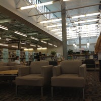 Photo taken at North Regional Library by Christine S. on 9/14/2012