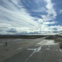 Photo taken at Aeropuerto Internacional de Río Grande - Gobernador Ramón Trejo Noel (RGA) by Caro C. on 1/6/2017