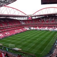 Photo taken at Estádio do Sport Lisboa e Benfica by João Gomes Martins on 5/6/2013