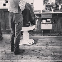 Photo taken at Fellow Barber by Evan M. on 3/9/2013