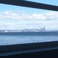 Photo taken at Bainbridge Island/Seattle Ferry by Rocio d. on 10/2/2017