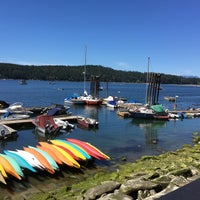 Photo taken at Montague Harbour by Cherry C. on 6/4/2016