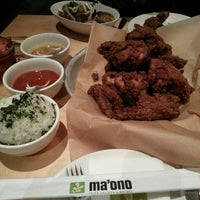 Photo taken at Ma'ono Fried Chicken & Whisky by Marclin A. on 3/11/2013