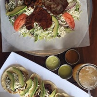 Photo taken at Tlayuda L.A. Mexican Restaurant by Diane V. on 5/4/2016