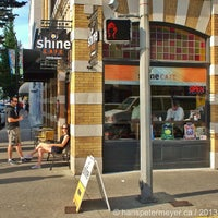Photo taken at Shine Cafe by Hans Peter M. on 7/17/2013