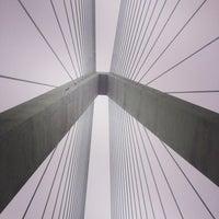 Photo taken at Stan Musial Veterans Memorial Bridge by Patrick O. on 2/8/2014