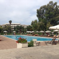 Photo taken at Kassandra Palace Pool by Andrey G. on 6/27/2014