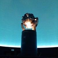 Photo taken at Planetário Johannes Kepler by Ricardo N. on 5/31/2014
