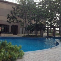 Photo taken at Pool · The Westin Kuala Lumpur 吉隆坡威斯汀酒店 by Qaiser B. on 6/21/2014