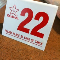 Photo taken at Carl's Jr. / Green Burrito by Laura G. on 3/1/2013