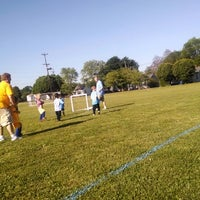 Photo taken at Rossville Athletic Complex by Alli C. on 5/3/2014