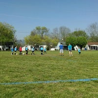 Photo taken at Rossville Athletic Complex by Alli C. on 4/12/2014