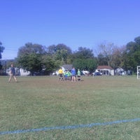 Photo taken at Rossville Athletic Complex by Alli C. on 10/12/2013