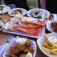 Photo taken at The Seafood Bar by Veerle B. on 1/9/2013