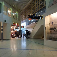 Photo taken at Stavanger Airport Sola (SVG) by Bobby L. on 6/6/2013