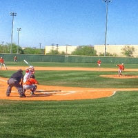 Photo taken at Northside Baseball Fields by Yvonne R. on 4/8/2014