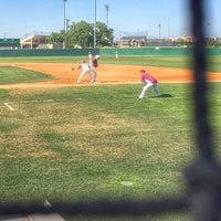 Photo taken at Northside Baseball Fields by Yvonne R. on 4/15/2014