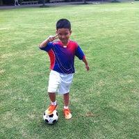 Photo taken at Chaaloem Phrakiat Park by TorTI P. on 8/19/2014