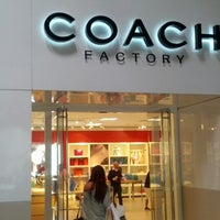 Photo taken at Coach Factory by GusGus on 6/6/2014