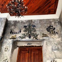 Photo taken at Mediterra Art Restaurant by Ugur A. on 4/2/2013