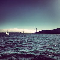 Photo taken at San Francisco Bay by Aaron D. on 9/1/2013