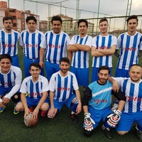 Photo taken at Sportmen Clup Halı Saha Tesisleri by ismail G. on 4/9/2017