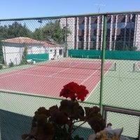 6/23/2013 tarihinde Cem Koray A.ziyaretçi tarafından Ankara Üniversitesi Tenis Kortları'de çekilen fotoğraf