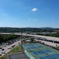 Photo taken at Austin High Tennis Center by Anna N. on 10/1/2017
