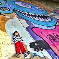 1/26/2013 tarihinde Amanda H.ziyaretçi tarafından Atlanta BeltLine Corridor under Freedom Pkwy'de çekilen fotoğraf