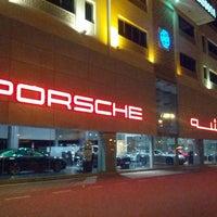 Photo taken at Porsche Showroom by Sonia M. on 3/15/2013
