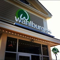 Photo taken at Wahlburgers by Kevin B. on 11/23/2012