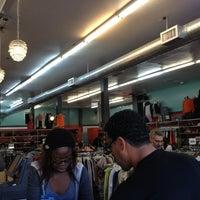 Photo taken at Buffalo Exchange by Monica N. on 1/19/2013