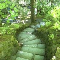 Photo taken at Portland Japanese Garden by Miwa on 7/20/2013
