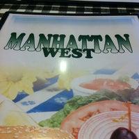 Photo taken at Manhattan West Deli Restaurant & Catering by Genevieve on 1/11/2013
