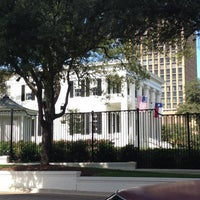 Photo taken at Texas Governor's Mansion by Teddy on 10/18/2012