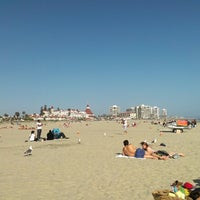 Photo taken at Coronado Beach by Leila P. on 5/19/2013