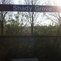Photo taken at Shady Grove Metro | Bus Stops by Mari S. on 4/13/2013