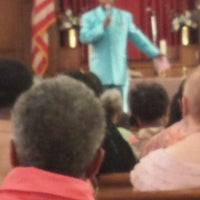Photo taken at Harold O. Davis Memorial Baptist Chuch by Kori J. on 7/6/2013