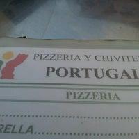 Photo taken at Pizzería Portugalia by Luis P. on 1/7/2013
