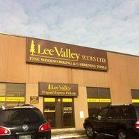 Photo taken at Lee Valley by Linda N. on 1/26/2013