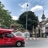 Photo taken at Wat Uppakut by ipleiie C. on 4/29/2018