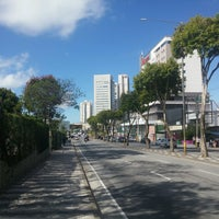 Photo taken at Avenida Vereador Narciso Yague Guimarães by Caio César O. on 9/22/2016